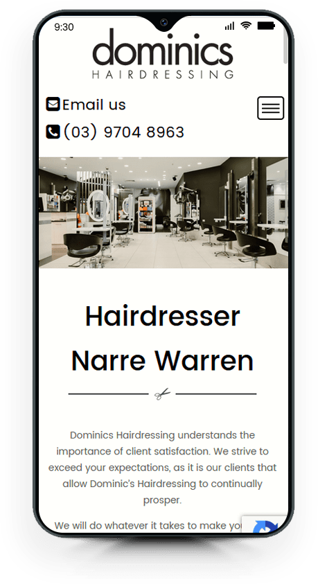DOMINIC HAIR DRESSING